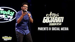 Parents & Social Media | Ashudh Gujarati | Stand Up Comedy by Manan Desai