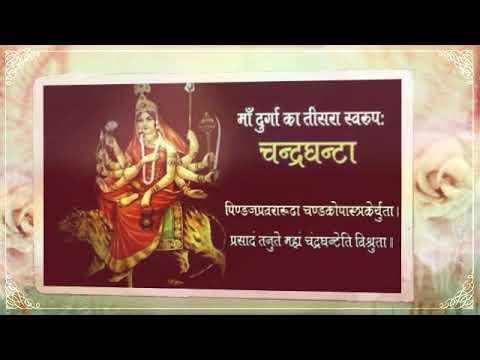 नवरात्रि स्पेशल : श्री नव दुर्गा माता के नौ रूपों का दिव्य दर्शन द्वारा सर्व मनोकामना सिद्धि