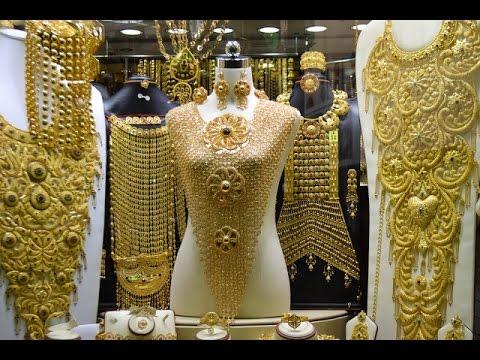 Dubai Gold Souk -  City of Gold (Amazing collections of gold, silver ,diamonds & precious stones)