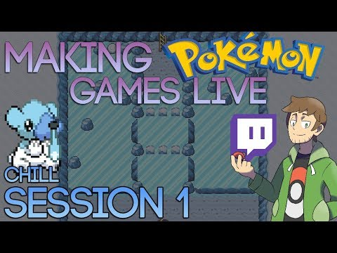 Making Pokemon Games Live - Pokemon Chill (Session 1)