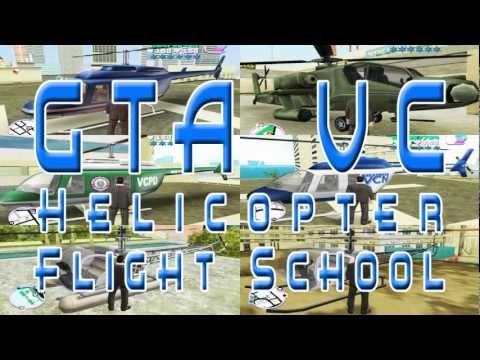 Helicopter Flight School - 01 Pre-Flight - gta vc