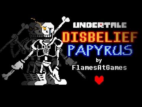 DISBELIEF (Papyrus's Genocide Route) [Undertale]