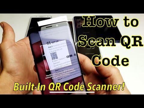 Galaxy S6/S7/S8/S9: How to Scan QR Code w/ Built-In Scanner