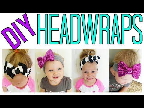 BABY HEADWRAP TUTORIAL | DIY HEADWRAPS | DIY BABY TURBAN