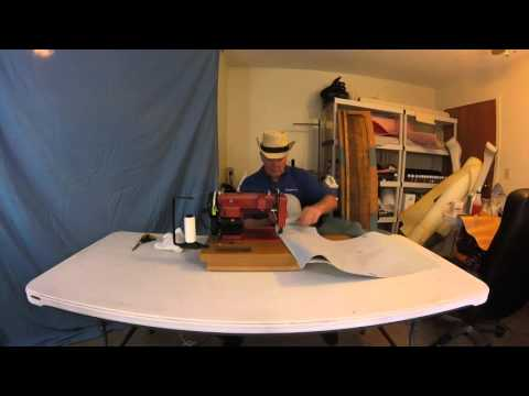 Boat upholstery Chap 22- Part 2 Wellcraft bench seat