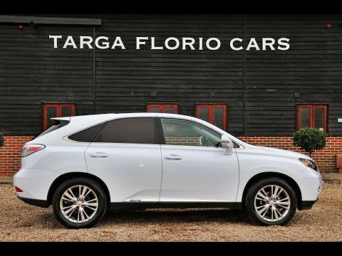 8e0b058eaf42 Lexus RX 450h Advance 3.5 Petrol Electric Hybrid in Starfire Pearl White  London UK