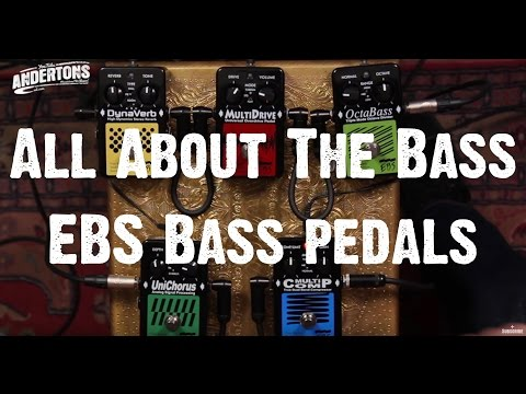 All About The Bass - EBS Bass pedals