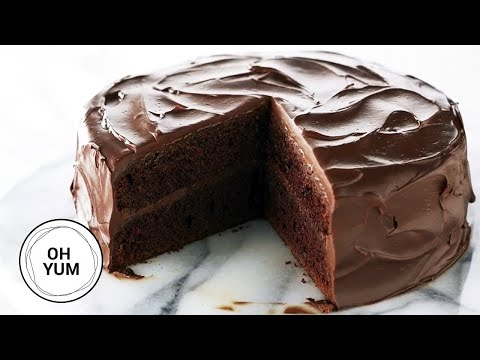 Classic Devil's Food Cake Recipe | Oh Yum with Anna Olson