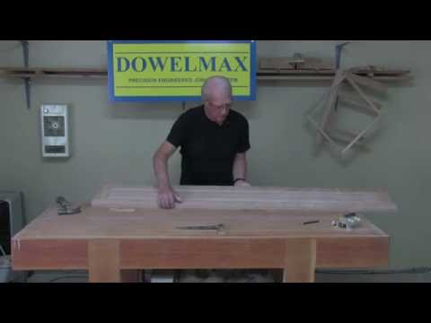 Strong Raised Panel Walls - How to Build a Bookcase with Dowelmax Pt. 3