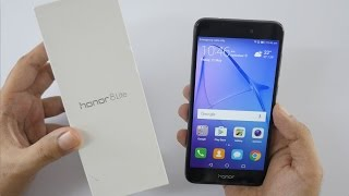 Honor 8 Lite Smartphone Unboxing & Hands On Overview
