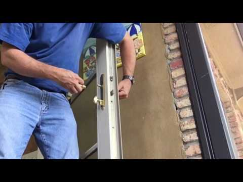 Replacing a Hoppe MultiPoint lock
