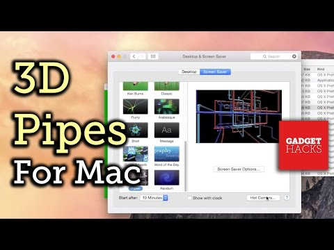 Get the Classic Windows 3D Pipes Screensaver on Your Mac [How-To]