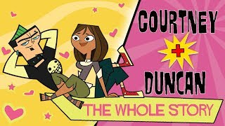 TOTAL DRAMA: Courtney ❤️  Duncan   The whole story