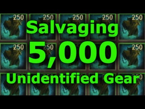 Salvaging 5,000 Pieces of Unidentified Gear  |  Guild Wars 2