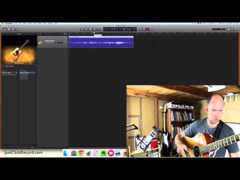 Recording Acoustic Guitar With GarageBand