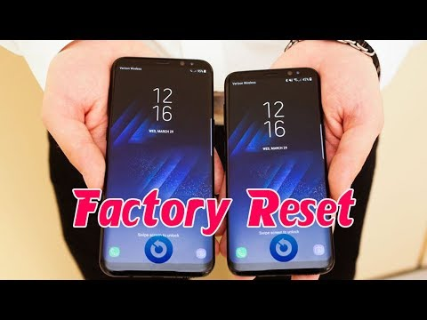 Galaxy S8/S8+ Hard Reset under 40 seconds