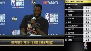 Draymond Green  Press Conference   NBA Finals Game 6