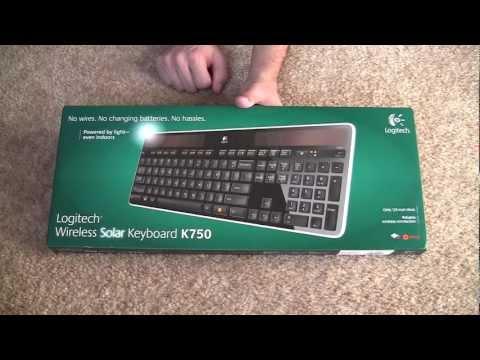Unboxing: Logitech Wireless Solar Keyboard K750