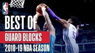 NBA's Best Guard Blocks   2018-19 NBA Season   #NBABlockWeek