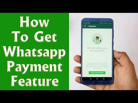 हम कैसे install कर सकते है अपने मोबाइल फ़ोन पर  whatsapp payment का फीचर
