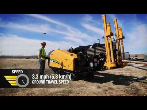 The Vermeer D23X30 S3 Horizontal Directional Drill. Speed. Simplicity. Sound levels