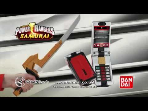 Power Rangers Samurai: Samuraizer Morpher & Samurai Spin Sword