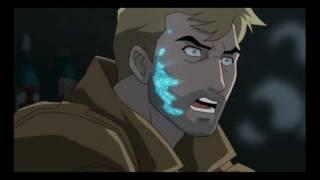 MIRA COMO JHON CONSTANTINE ENGAÑA A LOS 3 DEMONIOS - Justice League Dark