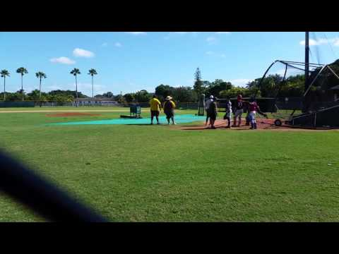 Miami Killian Freshman Baseball tryouts Dec. 2016(5)