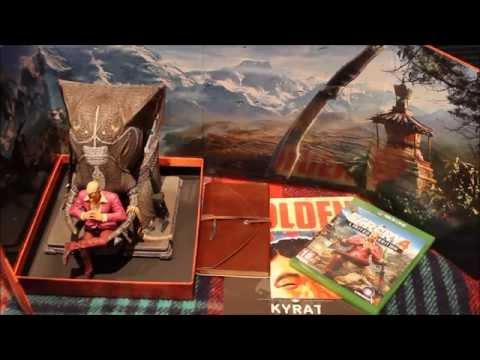 Unboxing Far Cry 4 Kyrat Edition ITA
