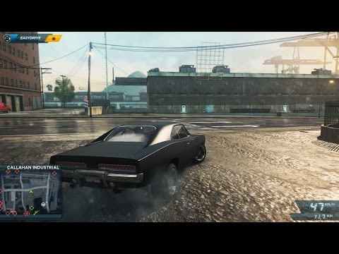 NFS MOST WANTED 2012 DODGE CHARGER R/T Gameplay