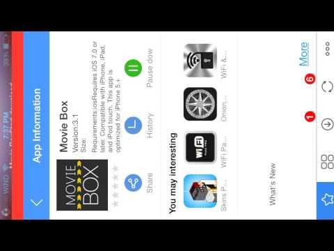 How to get movie box on iOS 8.1.3 no jailbreak iPhone, iPad, iPod