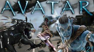 James Camerons Avatar #21 - Thanator Attack