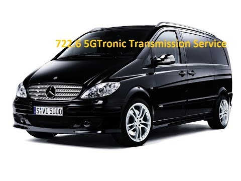 Mercedes W639 Vito 722.6 Automatic Transmission Fluid ATF Change Service