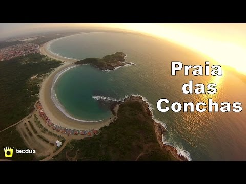 Drone FPV - Praia das Conchas beach, Cabo Frio, RJ, Brazil