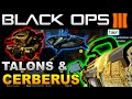 Black Ops 3 Destroy TalonsCerberus Turrets More EASILY Diamond Launchers Easily Part 2