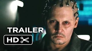 Transcendence Official Trailer #1 (2014) - Johnny Depp Sci-Fi Movie HD
