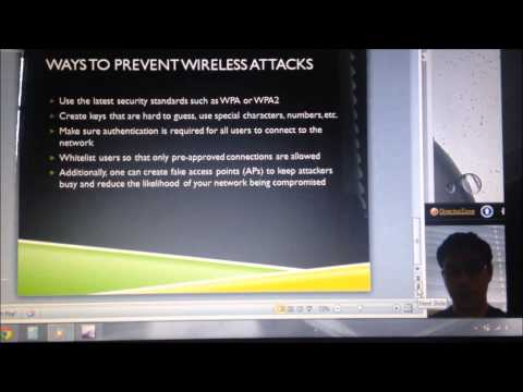 FIU EEL4789 Individual Project - How to hack into WEP wireless networks