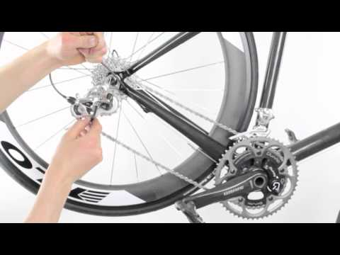 FLO Cycling - Connecting the Rear Derailleur Cable