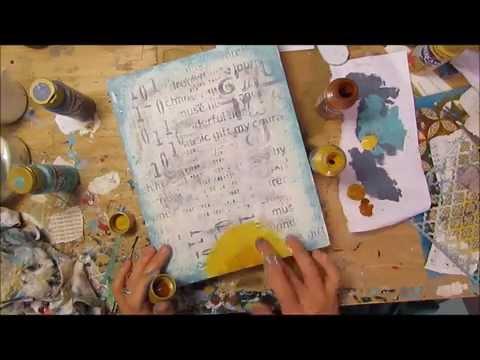 Artful Inspiration: mixed media art in motion