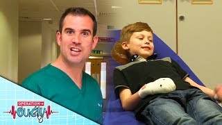 Download Science for Kids - Dealing With Smashed Finger | Emergency | Operation Ouch Video