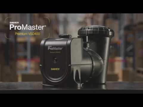 Davey Promaster VSD 400 Variable Speed Pool Pump