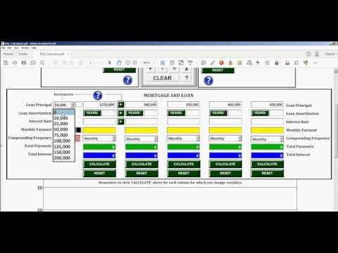 Free PDF Financial/Mortgage Calculator
