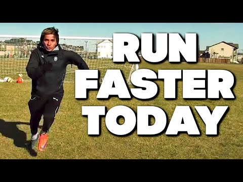 How To Run Faster | How To Get Faster | How To Increase Speed | Soccer Football
