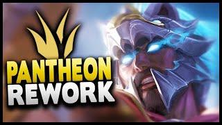 New Pantheon Rework Gameplay (Jungle) - League of Legends