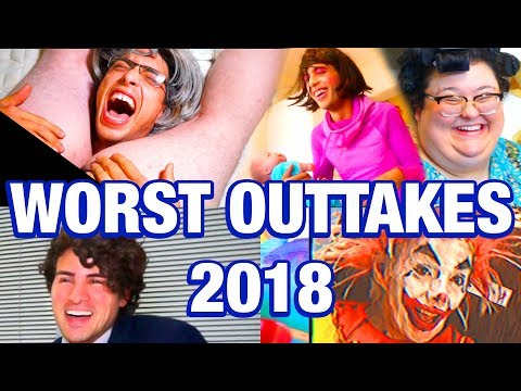 WORST OUTTAKES of 2018 - Brandon Rogers