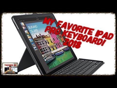 My Favorite iPad Pro Keyboard 2018, Logitech Slim Combo.