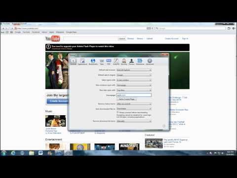 How to change homepage on Safari