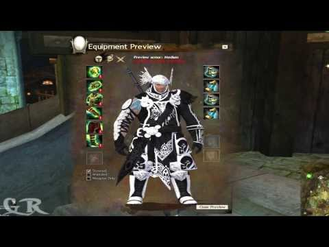 Guild Wars 2 Medium Ascended Armor's All Races Preview