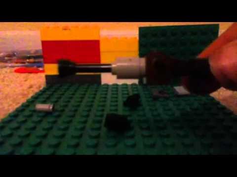 How to make a lego combat shotgun