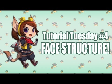 Tutorial Tuesday #4: Understanding/Practicing Face Structure!